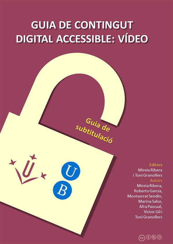 Guía de contenido digital accesible: Guía de subtitulado